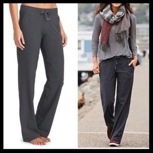 Athleta MidTown Trouser Drawstring Pant